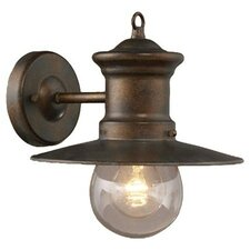 Victor 1 Light Outdoor Wall Lantern