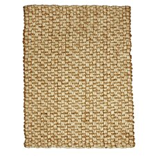 Bombay Hand-Woven Jute and Wool Area Rug