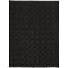 Caley Black Area Rug