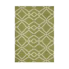 Amiee Hand-Tufted Lime Green Area Rug