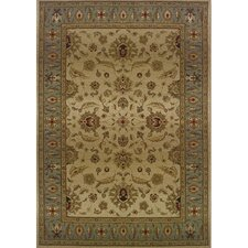 Liam Traditional Beige/Blue Area Rug