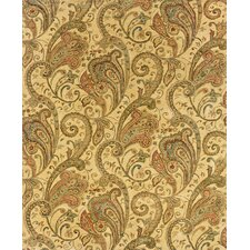 Aragon Hand-Crafted Wool Paisley Beige/Gold Area Rug