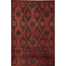 Darla  Red Area Rug