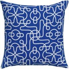 Reversible Cotton Throw Pillow