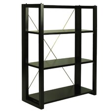 "Citiscape Folding/Stacking 38"" Bookcase"