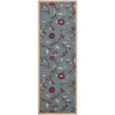 Carmelit Blue Indoor/Outdoor Area Rug