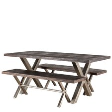 Rustic kitchen dining room sets wayfair - Better homes and gardens mercer dining table ...