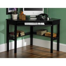 Parson Shelby Corner Desk in Black