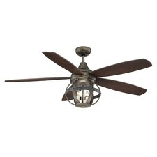"52"" Betty-Jo 4 Blade Ceiling Fan"