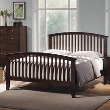 Emhouse Slat Panel Bed (Queen Size)