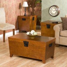 Danville 3 Piece Trunk Coffee Table Set