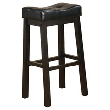 "Beaver Cove 29"" Bar Stool with Cushion (Set of 2)"