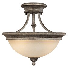 Belmont 2 Light Semi Flush Mount