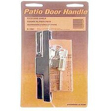 Sliding Glass Door Pull with Locking Unit