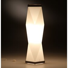 "Trovato Diamond 26"" H Table Lamp with Novelty Shade"