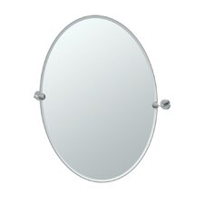 Latitude II Oval Mirror