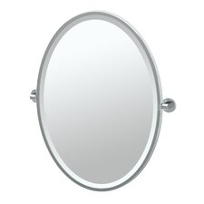 Zone Framed Oval Mirror