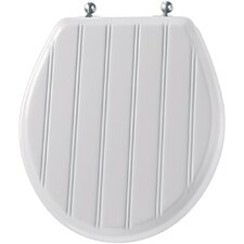 Molded Wood Cottage Classic Round Toilet Seat