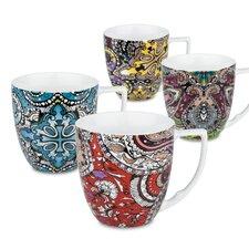 Urbana 12 oz. Assorted Mug (Set of 4)