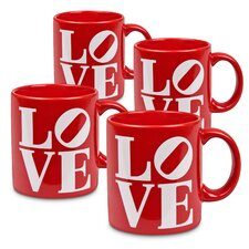 Fun Factory Love Mug (Set of 4)