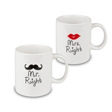 Fun Factory 2 Piece Mr. & Mrs. Right 'His & Her' Mug Set
