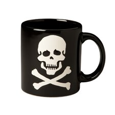 Decorated Mugs Skull and Crossbones Mug