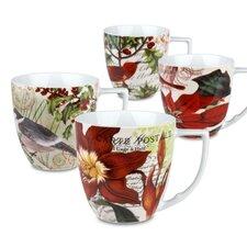 Accents Traditions 12 oz. Mug (Set of 4)