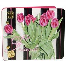 Home and Garden Tulips Mini Book Photo Album