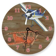 "10"" Airplanes Wall Clock"