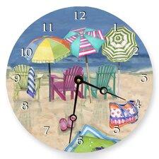 "18"" Adirondack Summer Wall Clock"
