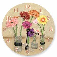 """18"""" Gerber Bottles Wall Clock"""