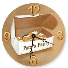 "10"" Cannoli's Wall Clock"