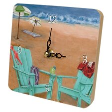 Travel and Leisure Skinny Dipping Tiny Times Clock