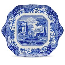 """Blue Italian 11"""" English Bread and Butter Plate"""