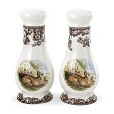 Woodland Salt and Pepper Shakers Set