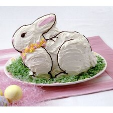 Seasonal Easter Bunny 3D Cake Mold