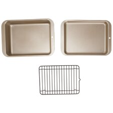 Compact Ovenware 3 Piece Bakeware Set