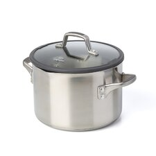 Easy System Stainless Steel Stock Pot with Lid