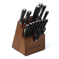 Precision Cutlery 16 Piece Knife Block Set