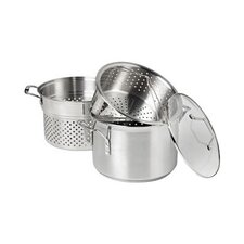 Simply Stainless Steel 8 Qt. Multi-Pot with Steamer & Pasta Insert