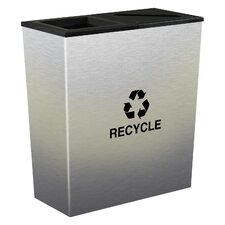 Metro 36-Gal Indoor Multi Compartment Recycling Bin