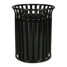 Streetscape 35.5-Gal Outdoor Waste Receptacle