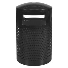 Landscape Series 40-Gal Outdoor Waste Receptacle