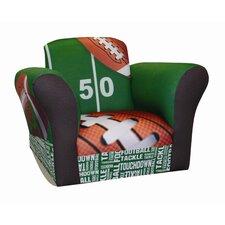Football 50 yard Line Standard Kid's  Rocking Chair