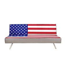 American Flag Convertible Sofa