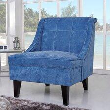 Kansas Wingback Slipper Chair