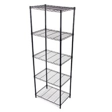 "Wire 61.02"" Five Shelf Shelving Unit"