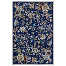 Traditions Hand-Tufted Blue Area Rug
