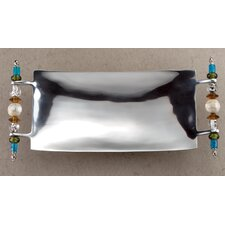 Kindwer Beaded Rectangle Serving Tray