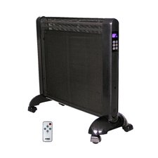 1,500 Watt Portable Electric Convection Panel Heater with Remote